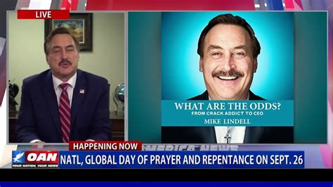 Mike discusses his new memoir, what are the odds? My Pillow CEO Mike Lindell joins initiative to help ...