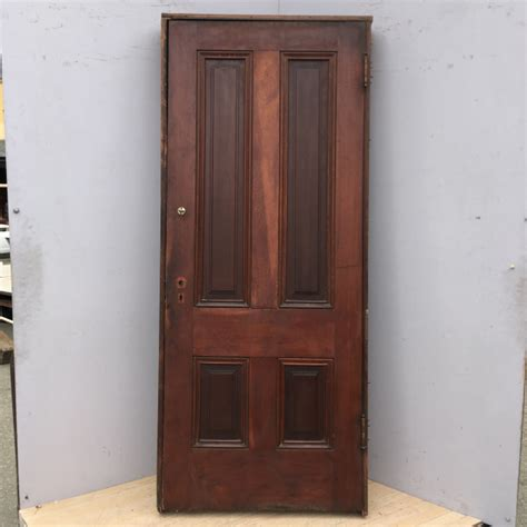 victorian redwood door  frame