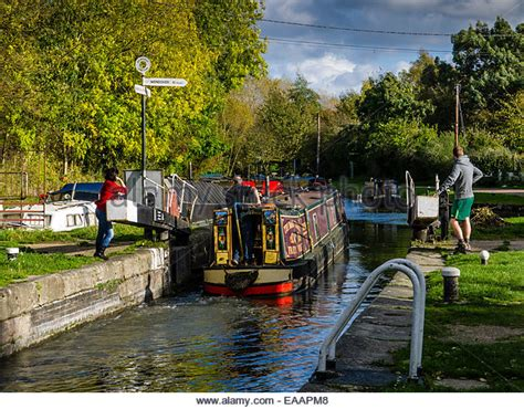 Berkhamsted Canal Boat Hire by Bulbourne Stock Photos Bulbourne Stock Images Alamy