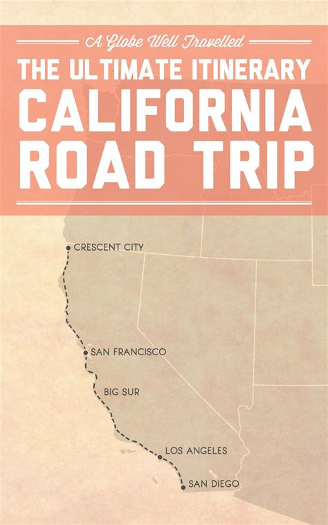 The Ultimate Itinerary For A Big Sur Road Trip Road Trip