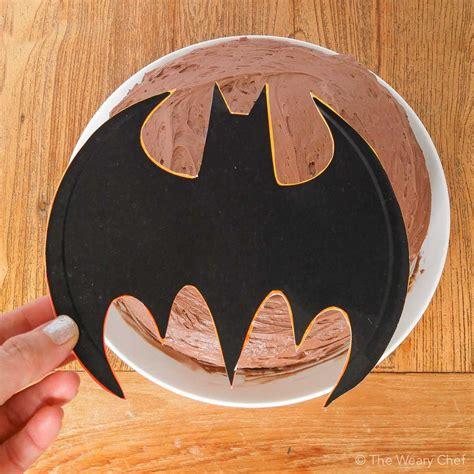 batman cake  weary chef