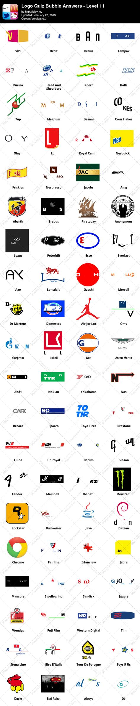 logo quiz answers level 11 logos quiz gouci app level 11 game solver logo quiz androidcrowd