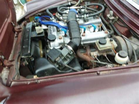 Alfa Romeo Spider Rebuilt Engine