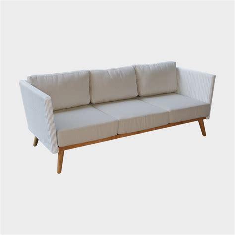 canapé haut de gamme design sofa 3 places canapé extérieur pob de sky line design