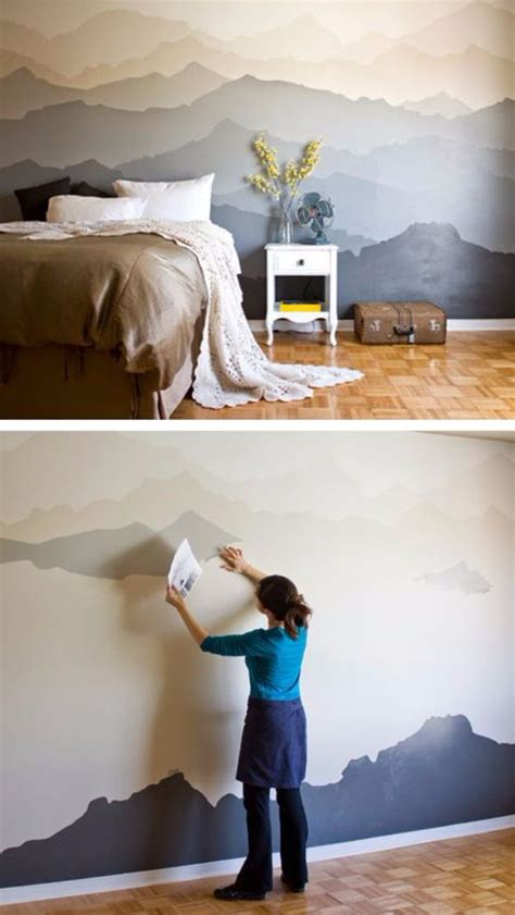 Bedroom Painting Ideas Diy by 25 Best Ideas About Creative Wall Painting On