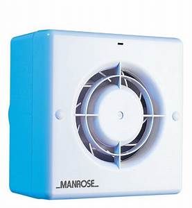 manrose cf100t toilet bathroom quiet extract fan with timer With non electric bathroom extractor fan