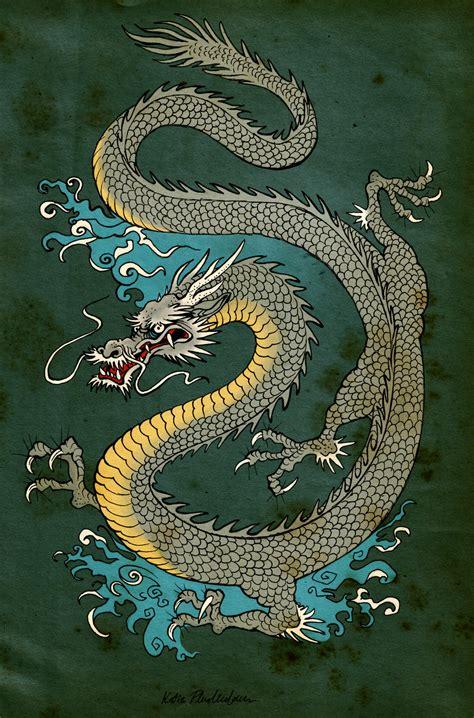 japanese dragon  katepfeilschiefter  deviantart