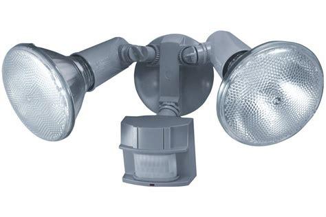 exterior flood lights motion sensor heath zenith sl 5411 gr c 150 degree motion sensing twin