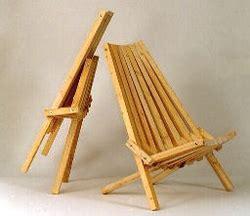 folding lawndeck chair plan