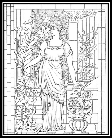 free coloring books free coloring pages from 100 museums by color our collections
