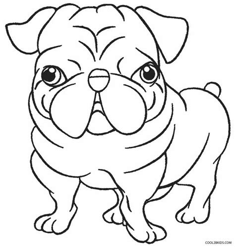 printable puppy coloring pages  kids