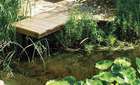 Steg Bauen Teich by Teich Steg Bauen Stege Selbst De