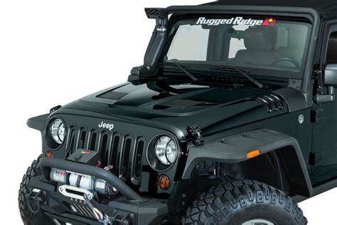 jeep vented hood rugged ridge 17759 px8 rugged ridge performance vented