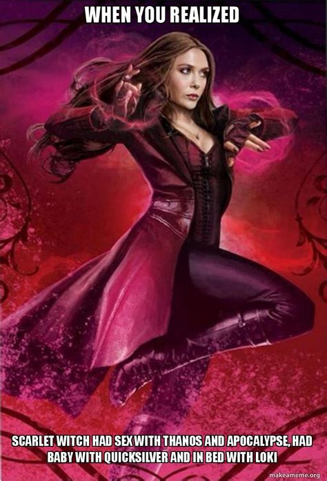 funniest scarlet witch memes     laugh hard