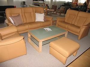 Couch Mit Elektrischer Verstellung : hukla mod roma klassische couch garnitur in leder braun kallenberger ~ Bigdaddyawards.com Haus und Dekorationen