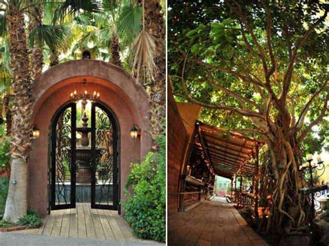 lush garden wedding venues   outdoor ceremony