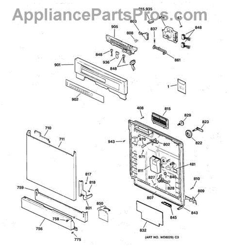 Wdx Upper Dishrack Assembly Appliancepartspros