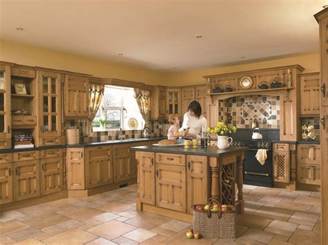 Princeton Solid Oak  Mastercraft Kitchens