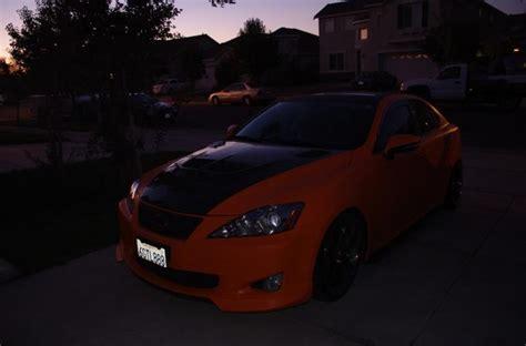 Just Wrap My Whole Car To Matt Orange