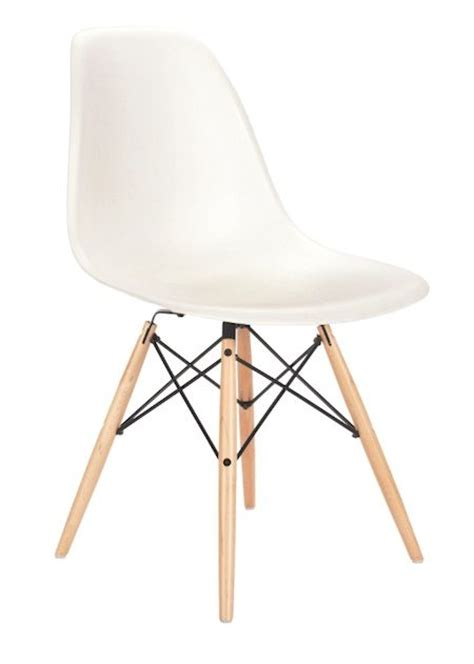 eames molded plastic aspect chair in white with picket