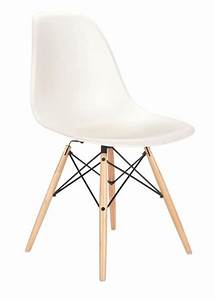 Eames Plastic Side Chair : eames molded plastic aspect chair in white with picket dowel base id love to vary my skovby ~ Bigdaddyawards.com Haus und Dekorationen