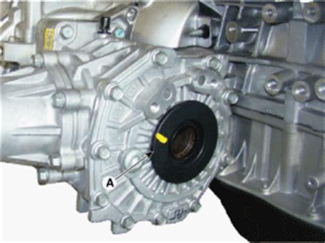 kia sorento oil seal replacement transfer assembly  wheel drive wd system kia sorento