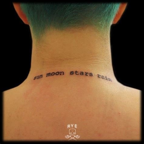 neck tattoo designs meanings