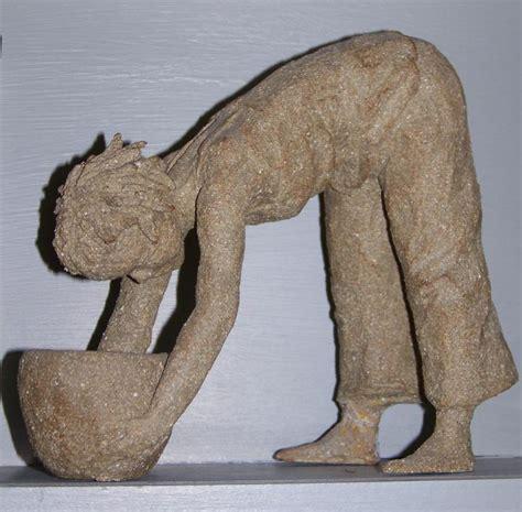 sculpture femme argile par jocelyne lambert 224 mazan pr 232 s d