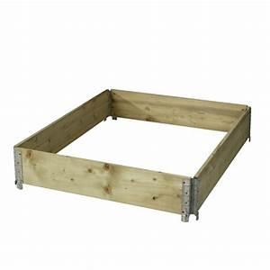 Bac En Bois Pour Potager : gardibo bac pour potager en bois impr gn gardibo ~ Dailycaller-alerts.com Idées de Décoration