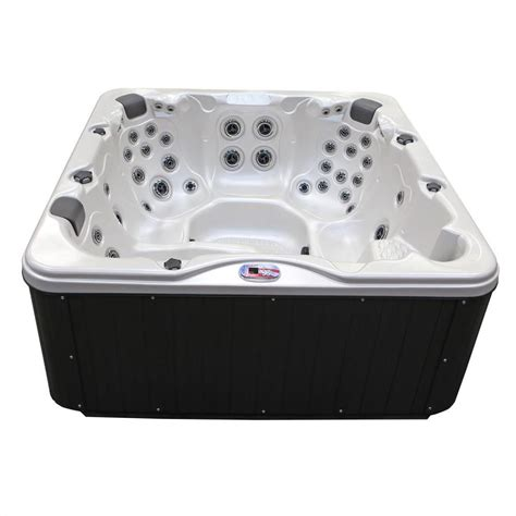 6 person tub american spas 6 person 56 jet square tub at lowes