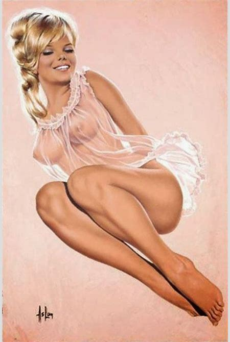 200 best images about Naughty and Nude Pin-Ups on Pinterest   Olivia d'abo, Gil elvgren and ...