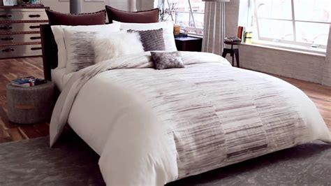 Kenneth Cole Reaction Landscape Duvet Collection At Bed