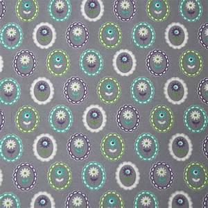 Stoffe Günstig Kaufen : jersey stoff bl mchen auf grau g nstig kaufen in online shop ~ Orissabook.com Haus und Dekorationen