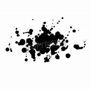 Tache De Couleur Peinture Fond Blanc : peinture dessin e goutte noire claboussures tache dart abstrait papier peint papiers peints ~ Melissatoandfro.com Idées de Décoration