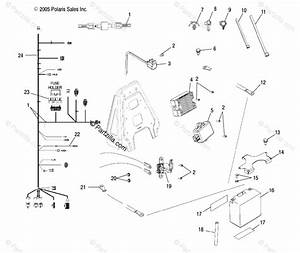 Polaris Atv 2006 Oem Parts Diagram For Electrical   Ld27aa