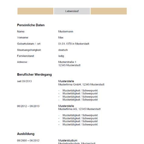 Lebenslauf Tabellarisch Vorlage by Tabellarischer Lebenslauf Vorlage Bewerbung Co