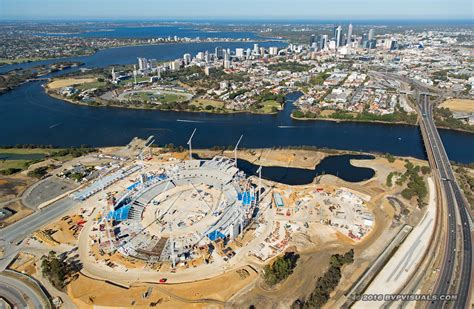 Perth Stadium Aerial
