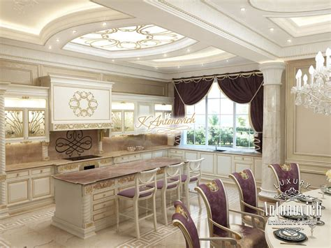 kitchen design dubai kitchen in classical style uae 1187