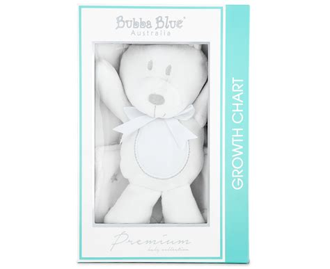 Bubba Blue Wish Upon A Star Growth Chart White