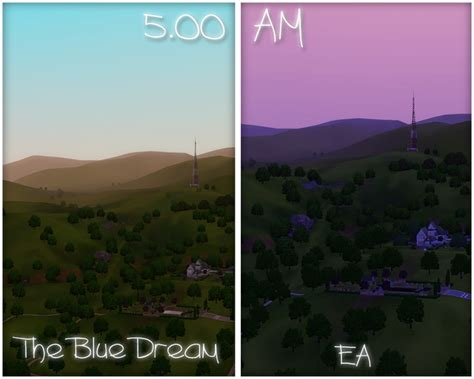 Sims 3 Lighting Mod by My Sims 3 Updated The Blue Lighting Mod By