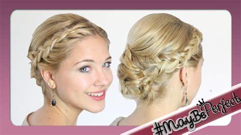 Frisuren Mittellanges Haar Hochstecken Anleitung