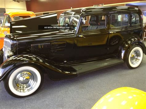 Classic 1934 Plymouth Sedan With Suicide Doors