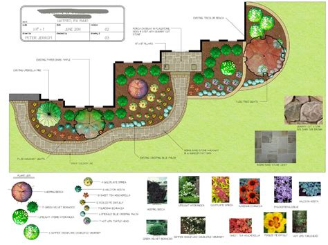 landscap plan bucks county landscaping services peter jerrom