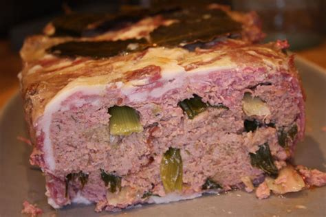 chicken and bacon pate a fruit recipe