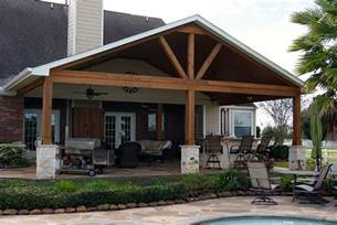 Gable Roof Patio Cover