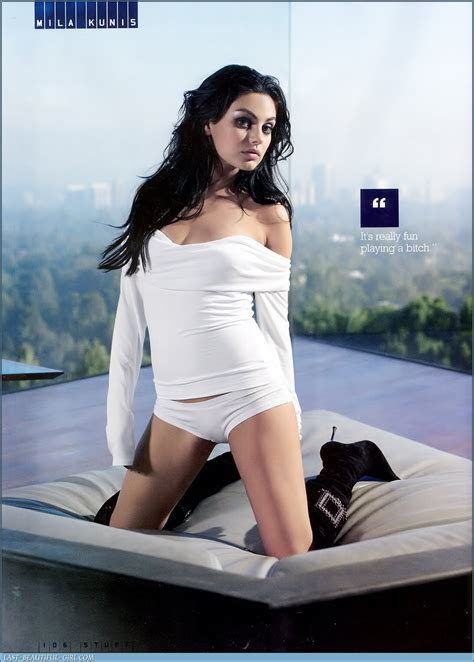 A View From The Beach Rule 5 Saturday Mila Kunis Has Sharks Teeth