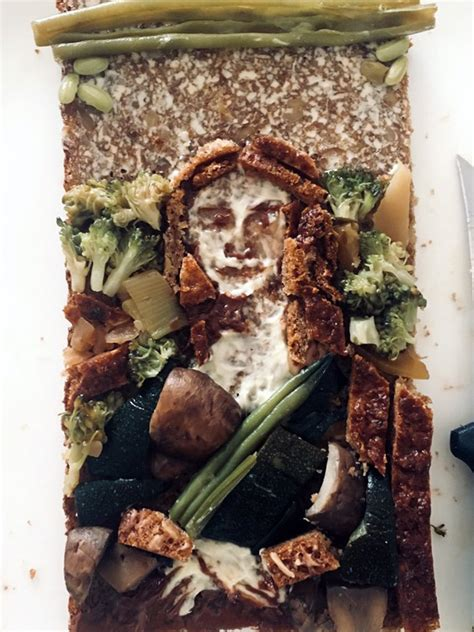 twitter users recreate famous paintings  sandwiches