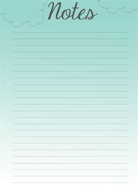 joey creates filofax pretties  printable notes