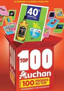 Promo Tv Auchan : catalogue top 100 auchan 2016 valable du 8 au 15 mars ~ Teatrodelosmanantiales.com Idées de Décoration