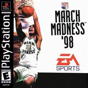 Ncaa March Madness 98 [SLUS-00526] - Playstation(PSX/PS1 ...